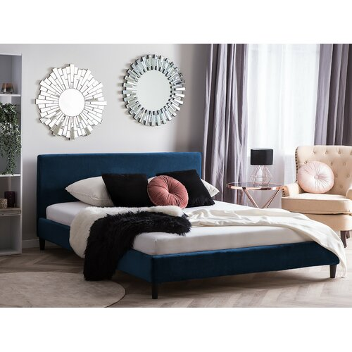 Hykkon Xander Upholstered Bed Frame in 2020 | Upholstered bed .