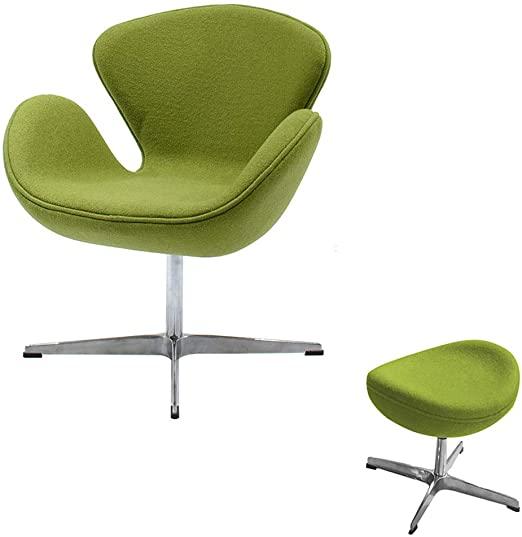 Amazon.com: Classic Swan Chair Swivel Height Adjustable Lounge .