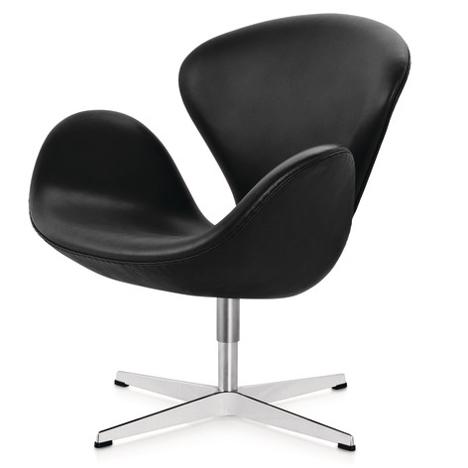 Dezeen's A-Zdvent calendar: Swan Chair by Arne Jacobs