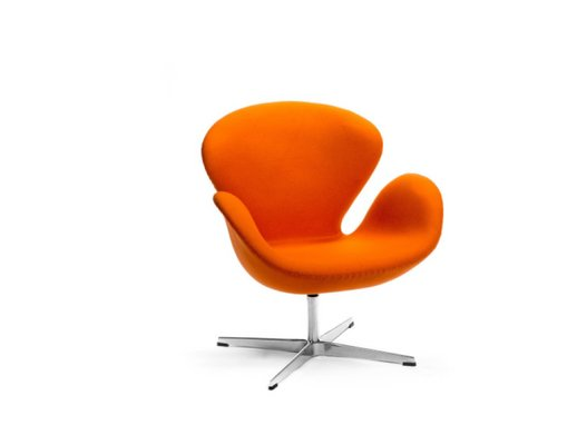 Swan Chair by Arne Jacobsen for Fritz Hansen, 2000s for sale at Pamo