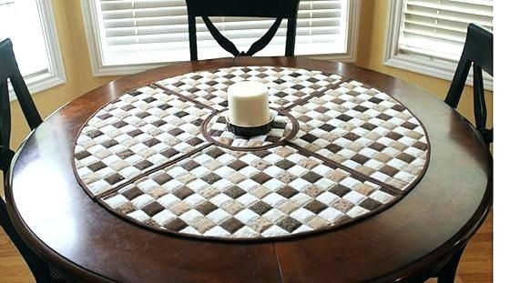 round table placemats for round tables wedge shaped quilted woven .