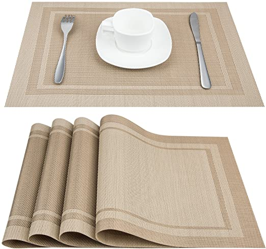 Amazon.com: Artand Placemats, Heat-Resistant Placemats Stain .