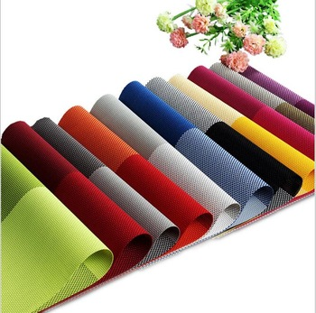 Hot Selling Plastic Table Mat / Dining Table Mat / Dining Table .