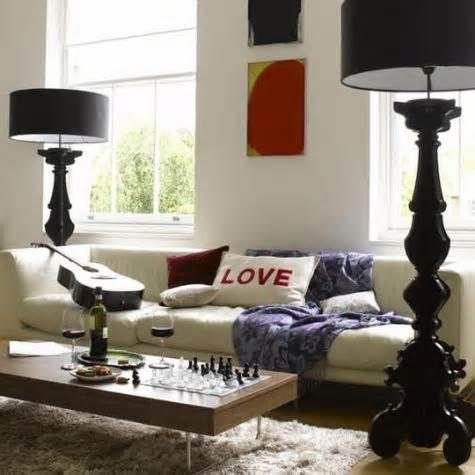 Pin by PINK on Tall Table Lamps   Living room designs, Home .