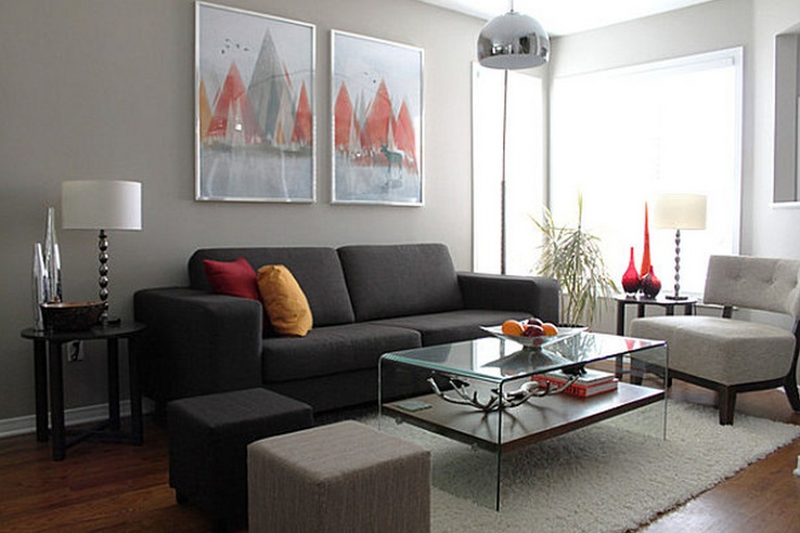 Tall table lamps for living room with modern design - Decolover.n
