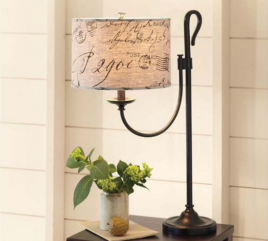 Tall table lamps for living room – colonial table lamps design .