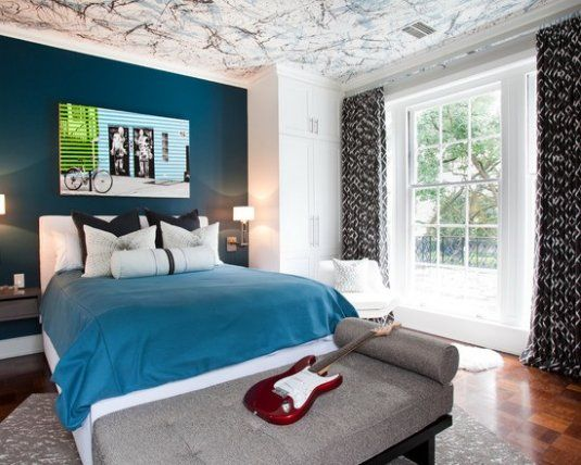 38 Inspirational Teenage Boys Bedroom Paint Ideas 34 (With images .