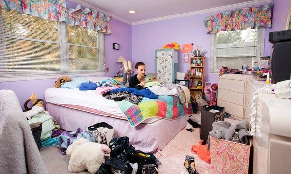 Teenage Bedroom as Battleground - The New York Tim
