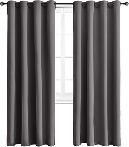 Amazon.com: WONTEX Blackout Curtains Thermal Insulated with .