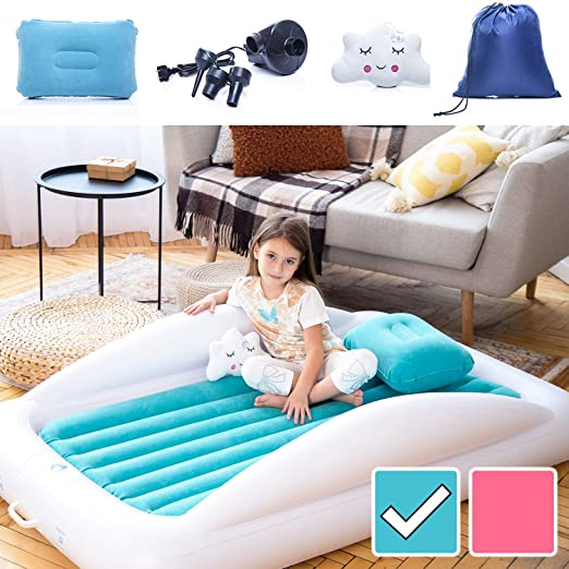 Amazon.com: Sleepah Inflatable Toddler Travel Bed – Inflatable .