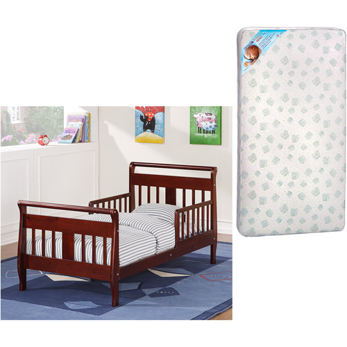 Baby Relax Toddler Bed w/Toddler Mattress Value Bundle (Your .