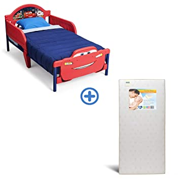 Amazon.com : Delta Children 3D-Footboard Toddler Bed, Disney/Pixar .