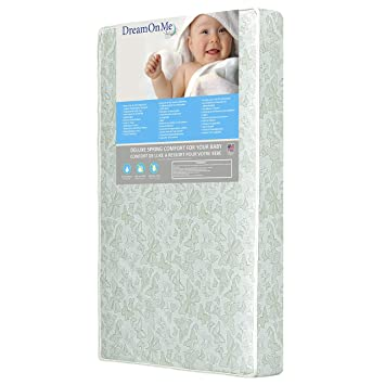 Amazon.com : Dream On Me 2 in 1 Foam Core Crib and Toddler Bed .