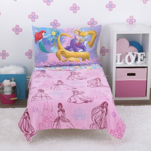 Disney Princess Toddler Bedding Set - 4pc : Targ