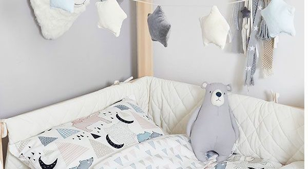 Toddler Bedding Set M - Bear Fami