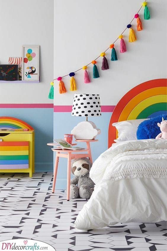 25 TODDLER GIRL BEDROOM IDEAS ON A BUDGET - Little Girl Bedroom .