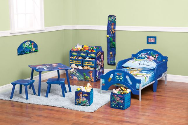Win an entire Toy Story Toddler Bedroom Set & Family Movie Tickets .