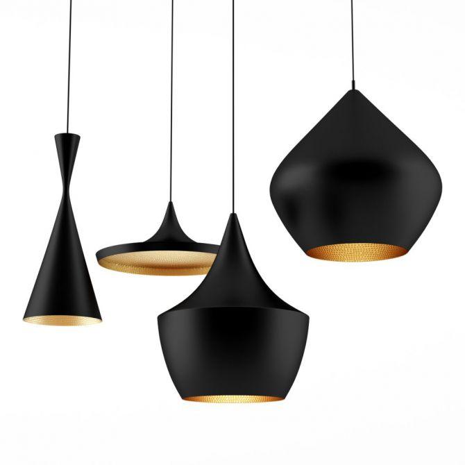 STOUT Pendant Light copper - Replica Tom Dixon - quali