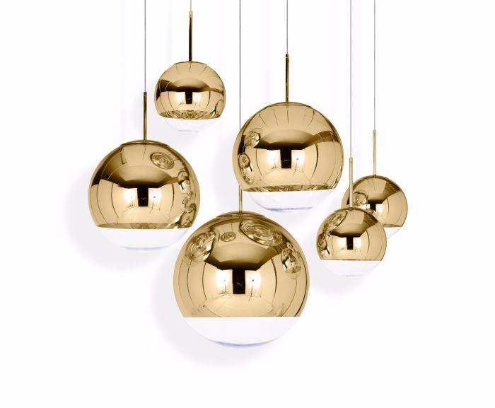 Tom Dixon | Mirror Ball Pendant Gold 40