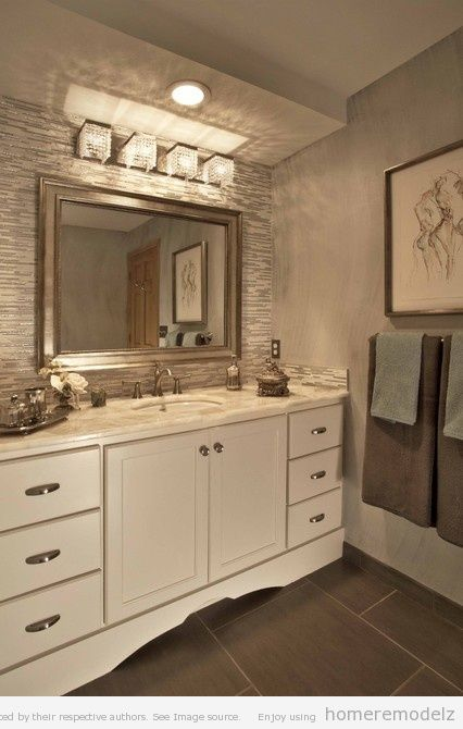Window Shopping Wednesday - Vanity Light Fixtures | Bathroom .