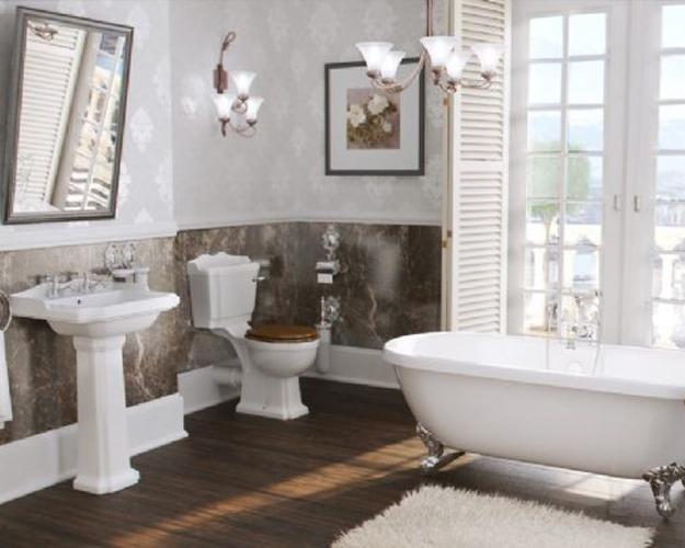 Wilmslow Freestanding Traditional Bathroom Sui