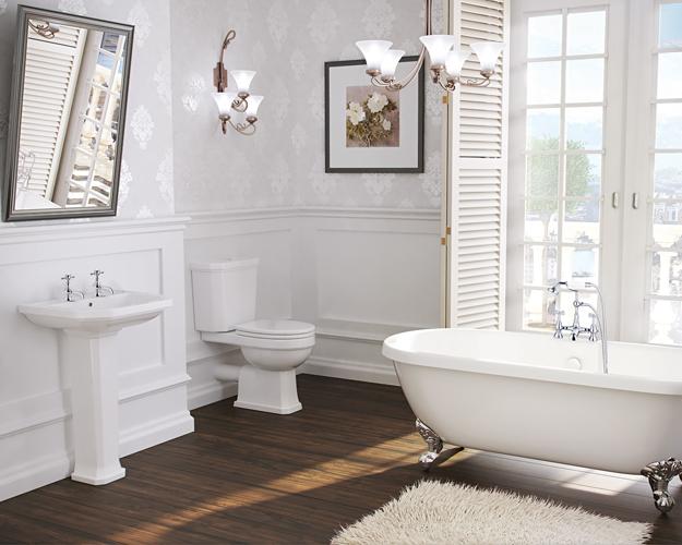 Synergy Helmsley Freestanding Traditional Bathroom Sui