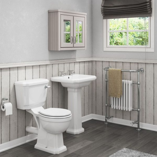 Cromford 4 Piece Traditional Bathroom Suite - Right Price Tiles .