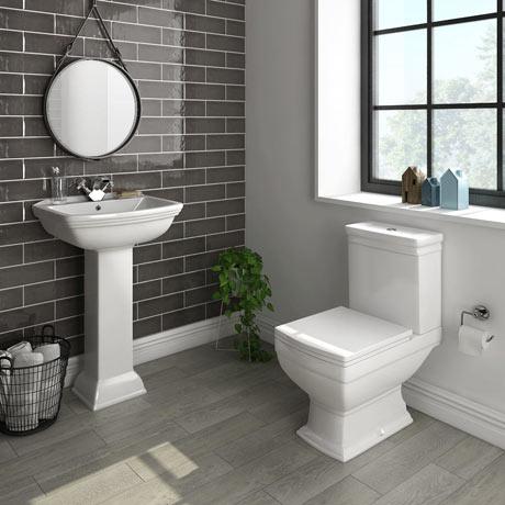Rydal 4-Piece Traditional Bathroom Suite | Victorian Plumbing