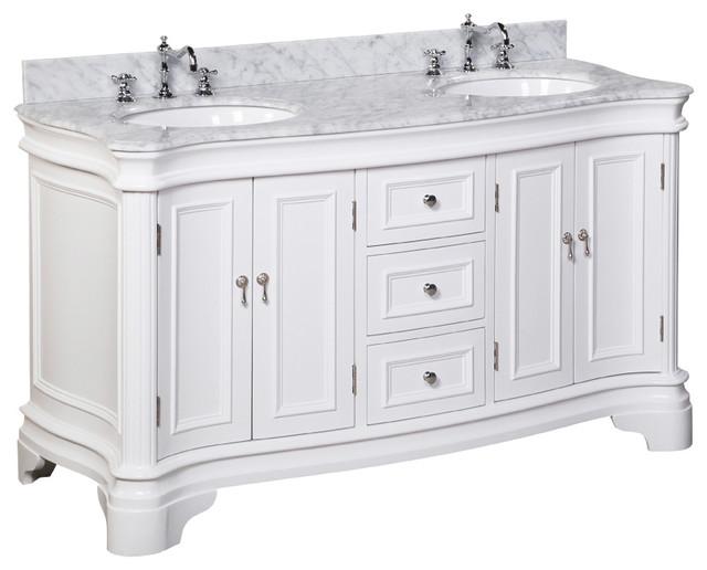 "Katherine 60"" Bath Vanity - Traditional - Bathroom Vanities And ."