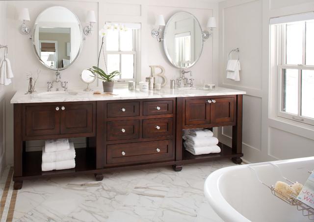Traditional Bathroom- Bath Vanity - Traditional - Bathroom .