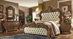 Arlyn Traditional Style Bedroom Furnitu