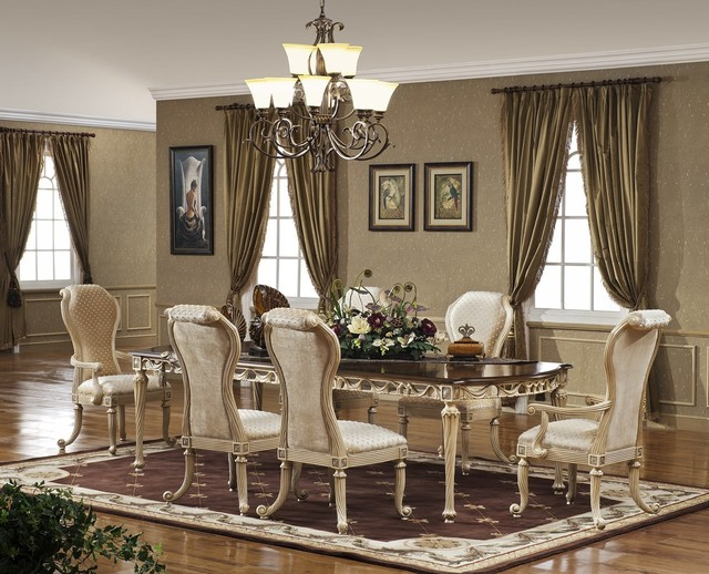 Casabella Dining Set - Traditional - Dining Room - Orange County .