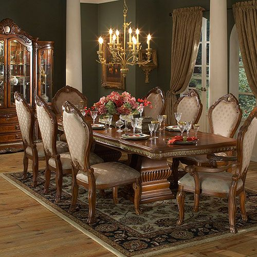 Traditional Italian style Dining Room-very similar to my Italian .