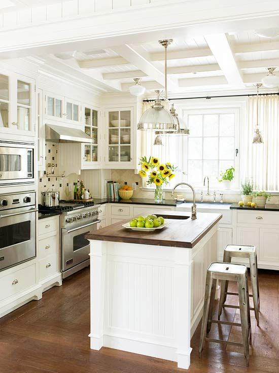 Traditional Kitchen Design Ideas | Kitchen decor, Home kitchens .