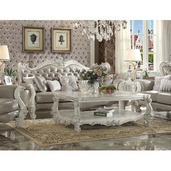 Acme United Luxurious Living Room Furniture 2pc Sofa Loveseat .