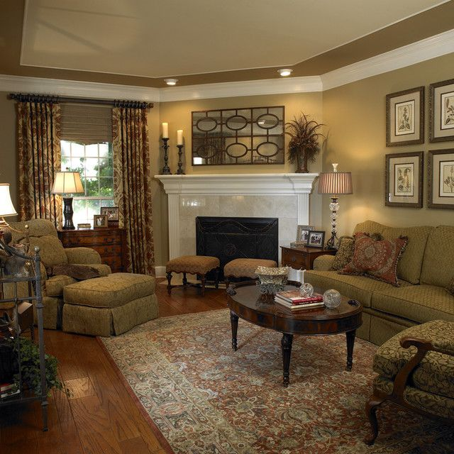 25 Best Traditional Living Room Designs | Living room designs .