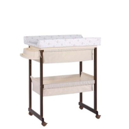 Wooden changing table / free-standing / on casters - B-1158 PLUS .