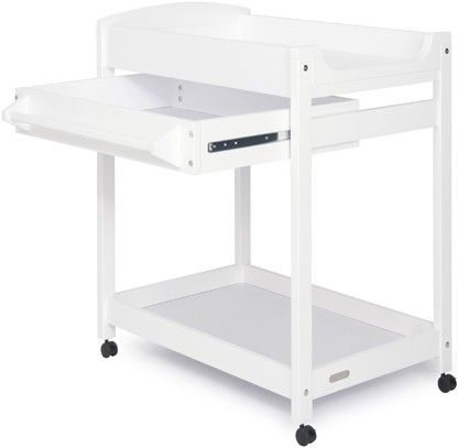 Grotime Duke Changetable White - Change Tables - Cots .