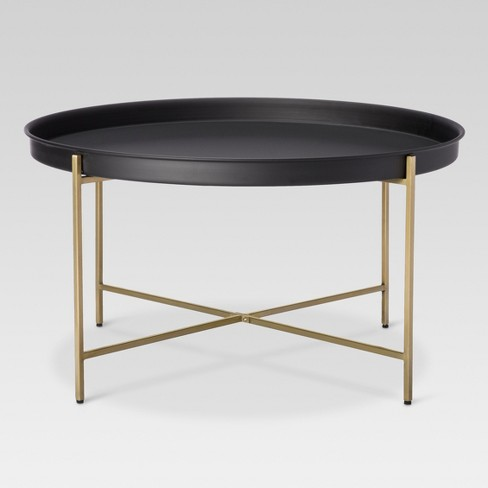 Brass Tray Coffee Table - Threshold™ : Targ