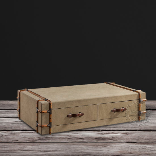 China Richards′ Vintage Steamer Canvas Trunk Coffee Table - China .