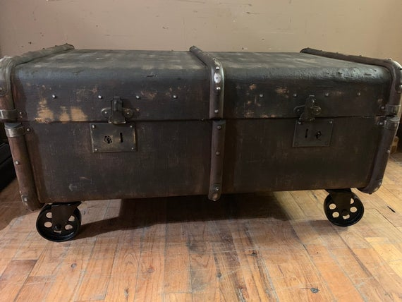 Trunk Steamer Trunk Coffee Table | Et