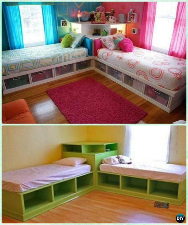 DIY Kids Bunk Bed Free Plans [Picture Instructions] (With images .