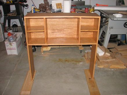 Bookcase Headboard for twin bed - by MikeOB @ LumberJocks.com .