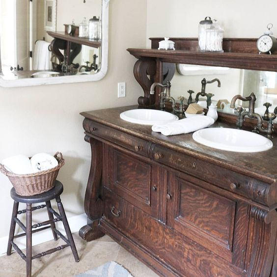 25 Unique Bathroom Vanities Made From Furniture - Life on .