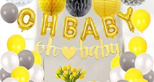 Amazon.com: JOYMEMO Baby Shower Decorations Neutral for Boy or .