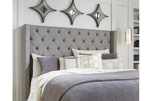 Sorinella Queen Upholstered Headboard | Ashley Furniture HomeSto