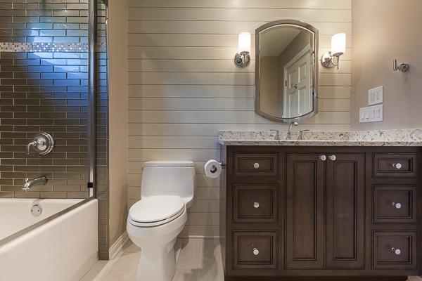 Inset Vanity Cabinet in Elmhurst, Illinois | Wheatland Custom .