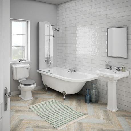 Appleby LH Traditional Bathroom Suite | Victorian Plumbing