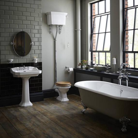 Heritage Granley High Level Complete Bathroom Suite | Victorian .