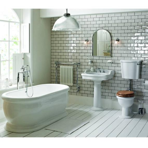 Heritage Victoria Low Level Bathroom Suite | Victorian Bathrooms 4